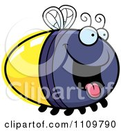 Clipart Hungry Firefly Lightning Bug Royalty Free Vector Illustration by Cory Thoman