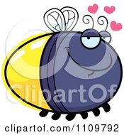 Clipart Amorous Firefly Lightning Bug Royalty Free Vector Illustration by Cory Thoman