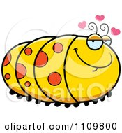 Clipart Amorous Caterpillar Royalty Free Vector Illustration by Cory Thoman
