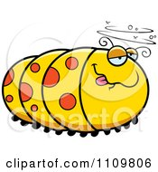 Clipart Drunk Caterpillar Royalty Free Vector Illustration by Cory Thoman