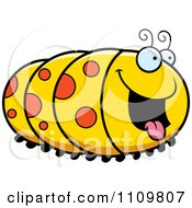Clipart Hungry Caterpillar Royalty Free Vector Illustration by Cory Thoman