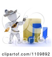 Clipart 3d Illegal Music Download Pirate White Character With A Folder Royalty Free CGI Illustration by KJ Pargeter