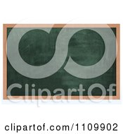 Clipart 3d Chalk Board With Copyspace Royalty Free CGI Illustration