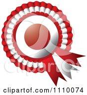 Shiny Japanese Flag Rosette Bowknots Medal Award