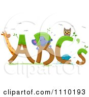 Clipart Alphabet Animals With ABCs Royalty Free Vector Illustration by BNP Design Studio