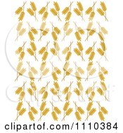 Clipart Seamless Wheat Background Pattern 2 Royalty Free Vector Illustration