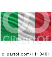 3d Waving Flag Of Italy Rippling And Waving by stockillustrations