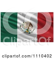 3d Waving Flag Of Mexico Rippling And Waving by stockillustrations