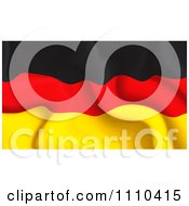 Clipart Crumpled German Flag Royalty Free Vector Illustration by MilsiArt