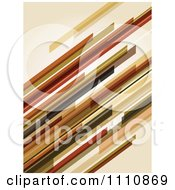 Clipart Abstract Background Of Diagonal Streaks Royalty Free Vector Illustration