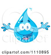 Excited Water Drop by Hit Toon