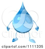 Clipart 3d Water Droplet Royalty Free CGI Illustration