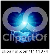 Clipart 3d Mysterious Hand With Glowing Light In Its Palm 1 Royalty Free CGI Illustration