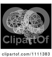 Clipart 3d Gear Wheels Forming A Brain Royalty Free CGI Illustration