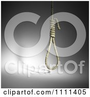 Clipart 3d Hangmans Noose Over Gray Royalty Free CGI Illustration by Mopic
