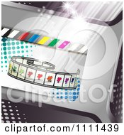 Clipart Movie Film Strip Cinema Background 5 Royalty Free Vector Illustration