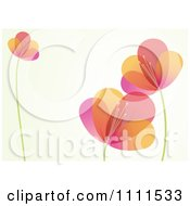 Clipart Colorful Flower Background With Copyspace 1 Royalty Free Vector Illustration by BestVector