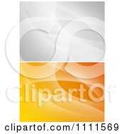 Clipart Gradient Gray And Orange Abstract Backgrounds Royalty Free Vector Illustration