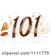 Clipart Classical Music 101 Icon Royalty Free Vector Illustration