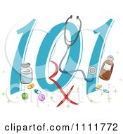 Clipart Pharmacy 101 Icon Royalty Free Vector Illustration