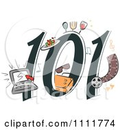 Clipart Lifestyle Blogging 101 Icon Royalty Free Vector Illustration