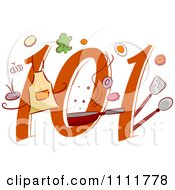 Clipart Cooking 101 Icon Royalty Free Vector Illustration by BNP Design Studio