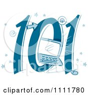 Clipart Computers 101 Icon Royalty Free Vector Illustration by BNP Design Studio