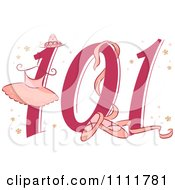 Clipart Ballet 101 Icon Royalty Free Vector Illustration by BNP Design Studio