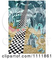 Clipart Soldiers Approaching Steps On A Checkered Path Royalty Free Illustration by Prawny