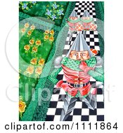 Clipart Soldiers Marching Down A Checkered Path Royalty Free Illustration by Prawny