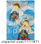 Clipart Angels Carrying Tired Soldiers Royalty Free Illustration by Prawny