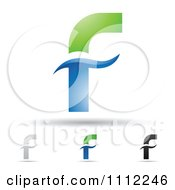 Clipart Abstract Letter F  F Logo Design Vector