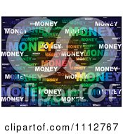 Colorful Money Word Collage