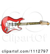 Fiesta Red Fender Stratocaster Electric Guitar