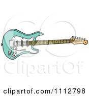 Surf Green Fender Stratocaster Electric Guitar