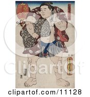 Ichiriki The Sumo Wrestler Clipart Picture