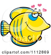 Clipart Butterflyfish In Love Royalty Free Vector Illustration