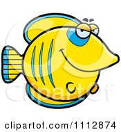Clipart Sly Butterflyfish Royalty Free Vector Illustration by Cory Thoman