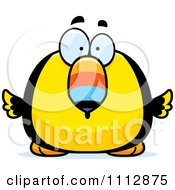 Clipart Surprised Toucan Bird Royalty Free Vector Illustration by Cory Thoman