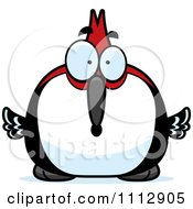 Clipart Surprised Woodpecker Bird Royalty Free Vector Illustration by Cory Thoman