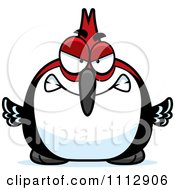 Clipart Angry Woodpecker Bird Royalty Free Vector Illustration by Cory Thoman