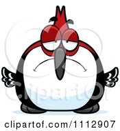 Clipart Depressed Woodpecker Bird Royalty Free Vector Illustration by Cory Thoman