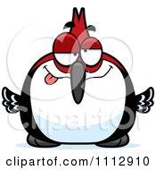 Clipart Dumb Woodpecker Bird Royalty Free Vector Illustration by Cory Thoman