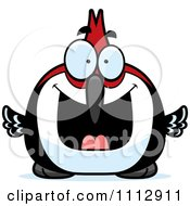 Clipart Excited Woodpecker Bird Royalty Free Vector Illustration by Cory Thoman
