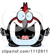 Excited Woodpecker Bird