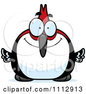 Clipart Happy Smiling Woodpecker Bird Royalty Free Vector Illustration by Cory Thoman