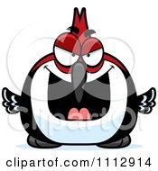 Clipart Sly Woodpecker Bird Royalty Free Vector Illustration by Cory Thoman