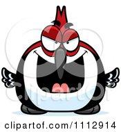 Sly Woodpecker Bird