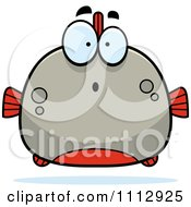 Clipart Surprised Piranha Fish Royalty Free Vector Illustration by Cory Thoman