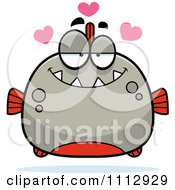 Clipart Piranha Fish In Love Royalty Free Vector Illustration by Cory Thoman